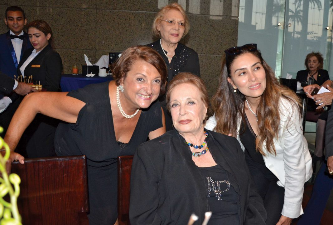 Ms. Nana Behnam, Ms. Jehan Sadat and Ms. Zeina Bahlawy