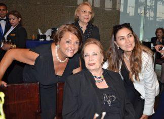 Ms. Nana Behnam, Ms. Jehan Sadat and Ms. Zeina Bahlawy