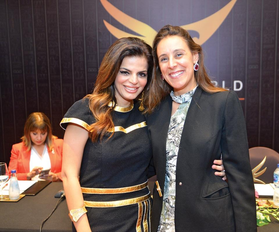 Ms. Zeinab Bashier & Ms. Nadine Ghaffar