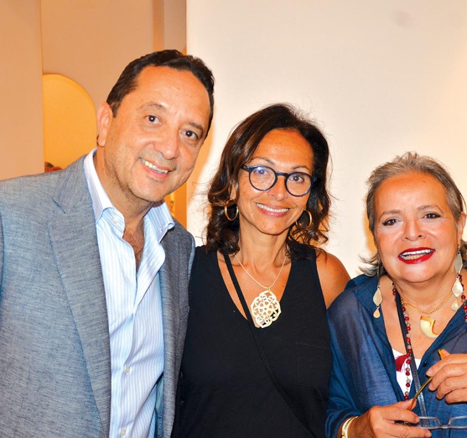 Mr. Ahmed El Tawil, Ms. Omneya Sabry & Ms. Sherine Fahmy