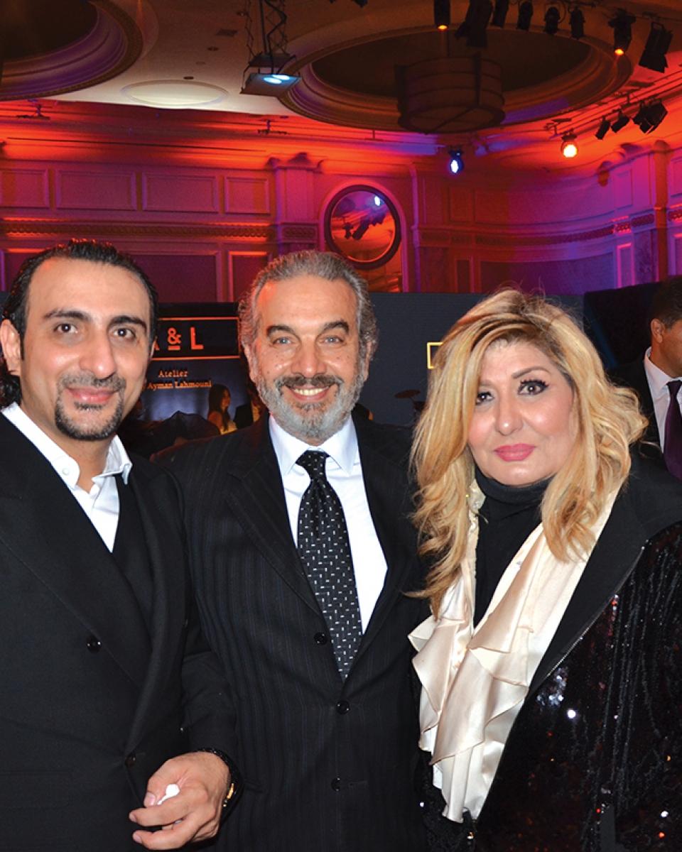 Mr. Ayman Lahmouni, Mr. Alaa El Sherbiny & Soheir Ramzy