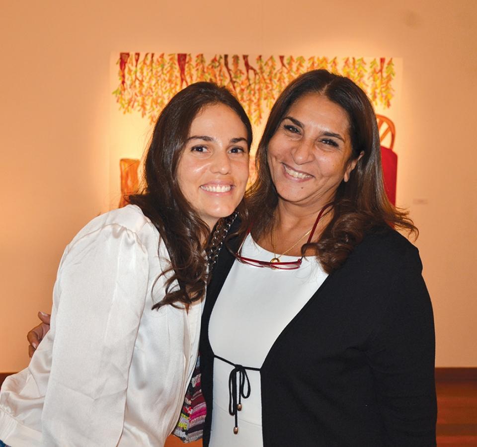 Ms. Amina El Demirdash & Ms. Lamiaa El Akhrass
