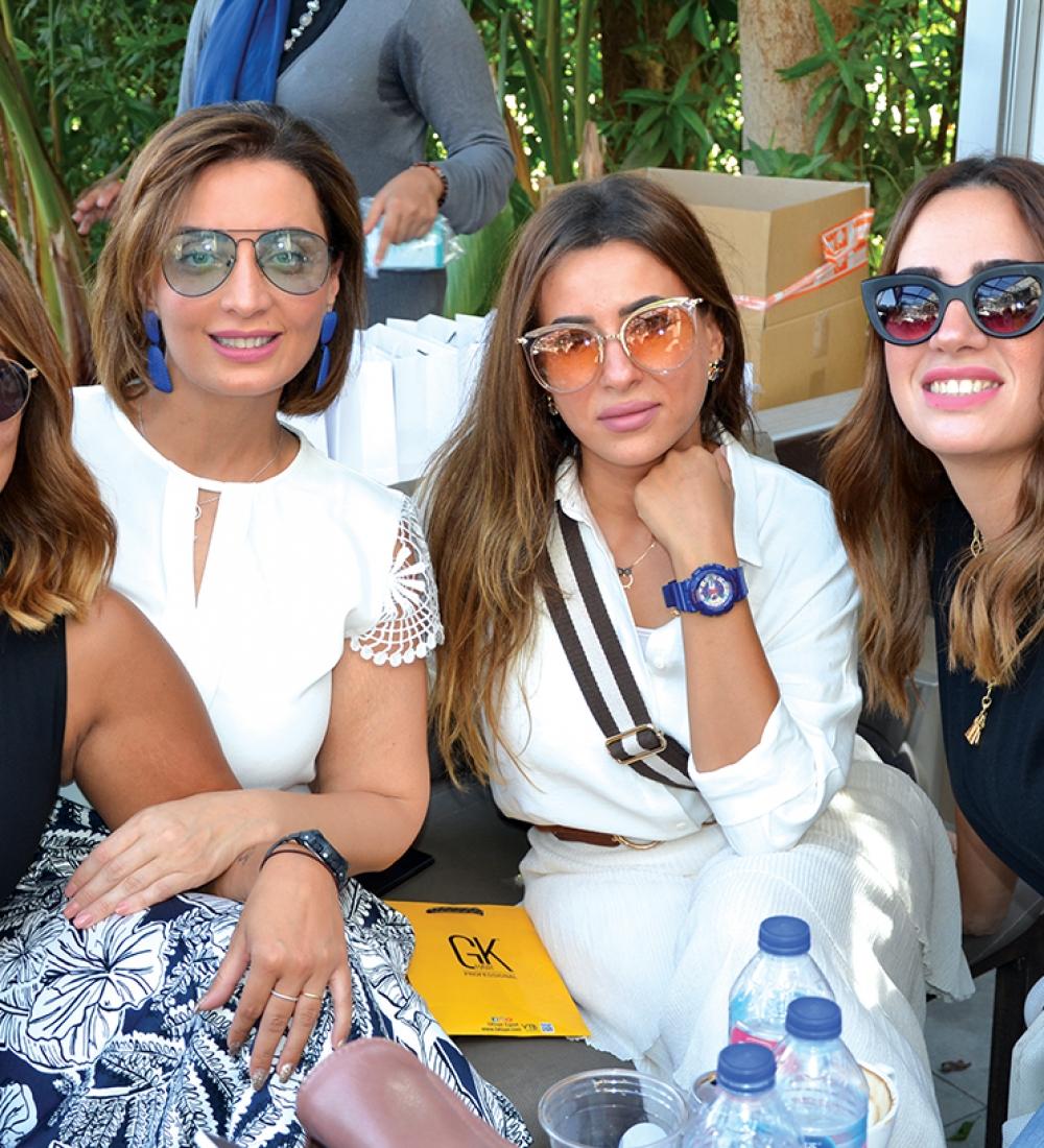 Ms. Farah Hesham, Ms. Youmna Mehrez, Ms. Sally Badrawy & Ms. Yasmine Ezz