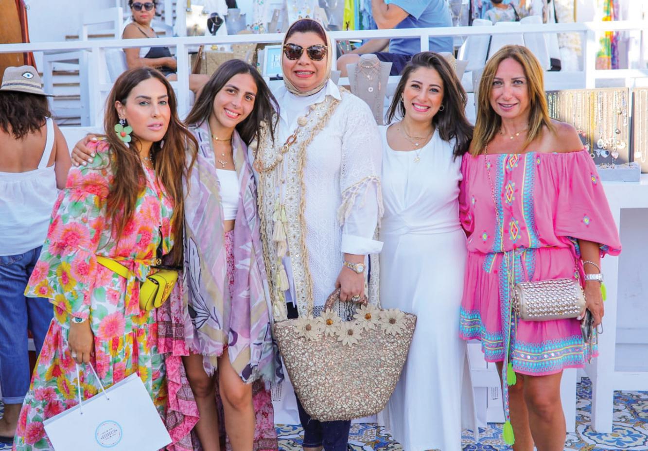 Ms. Salma Fathalla, Ms. Shahira Wahdan & friends copy
