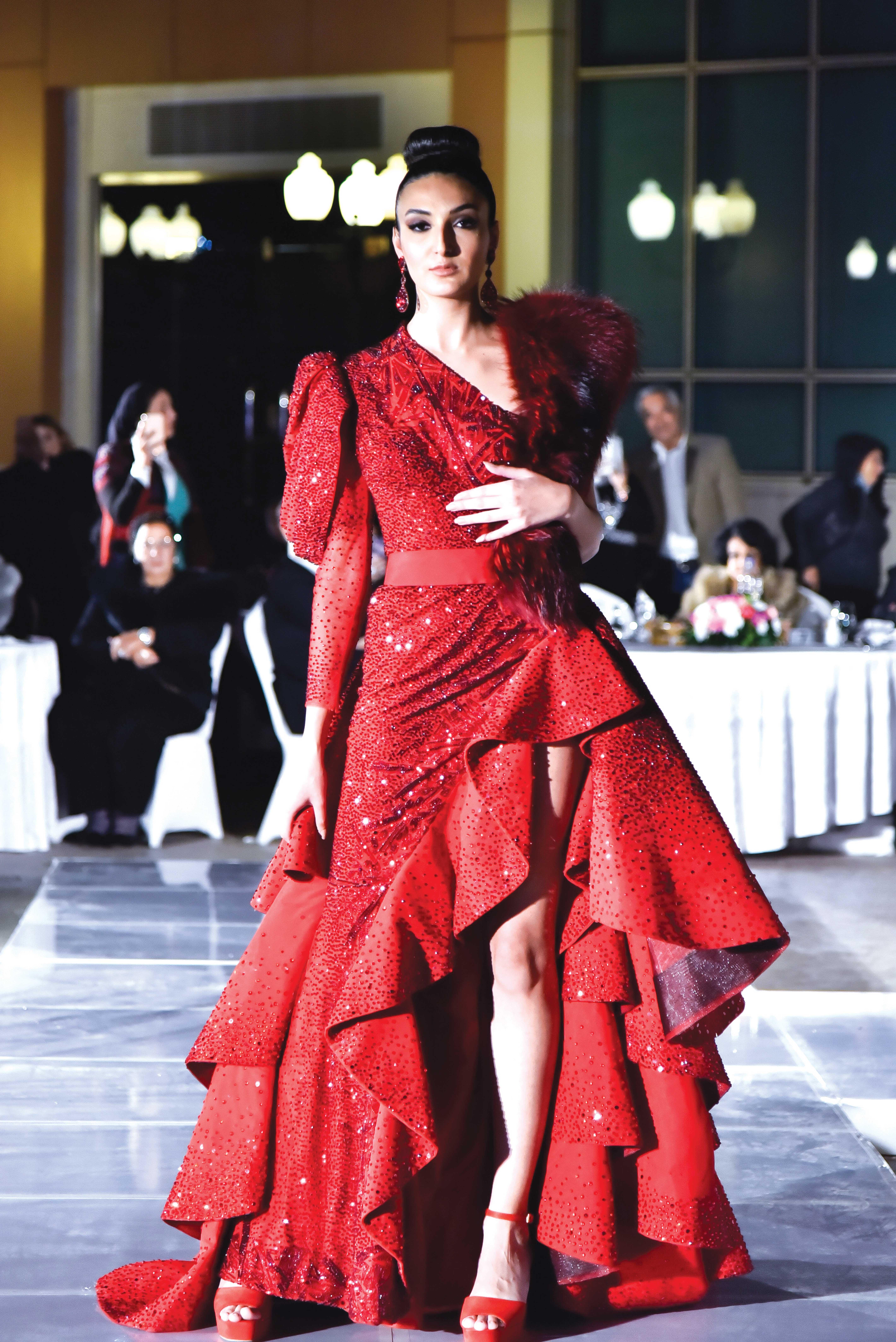 Dress by Hany Elbeheiry