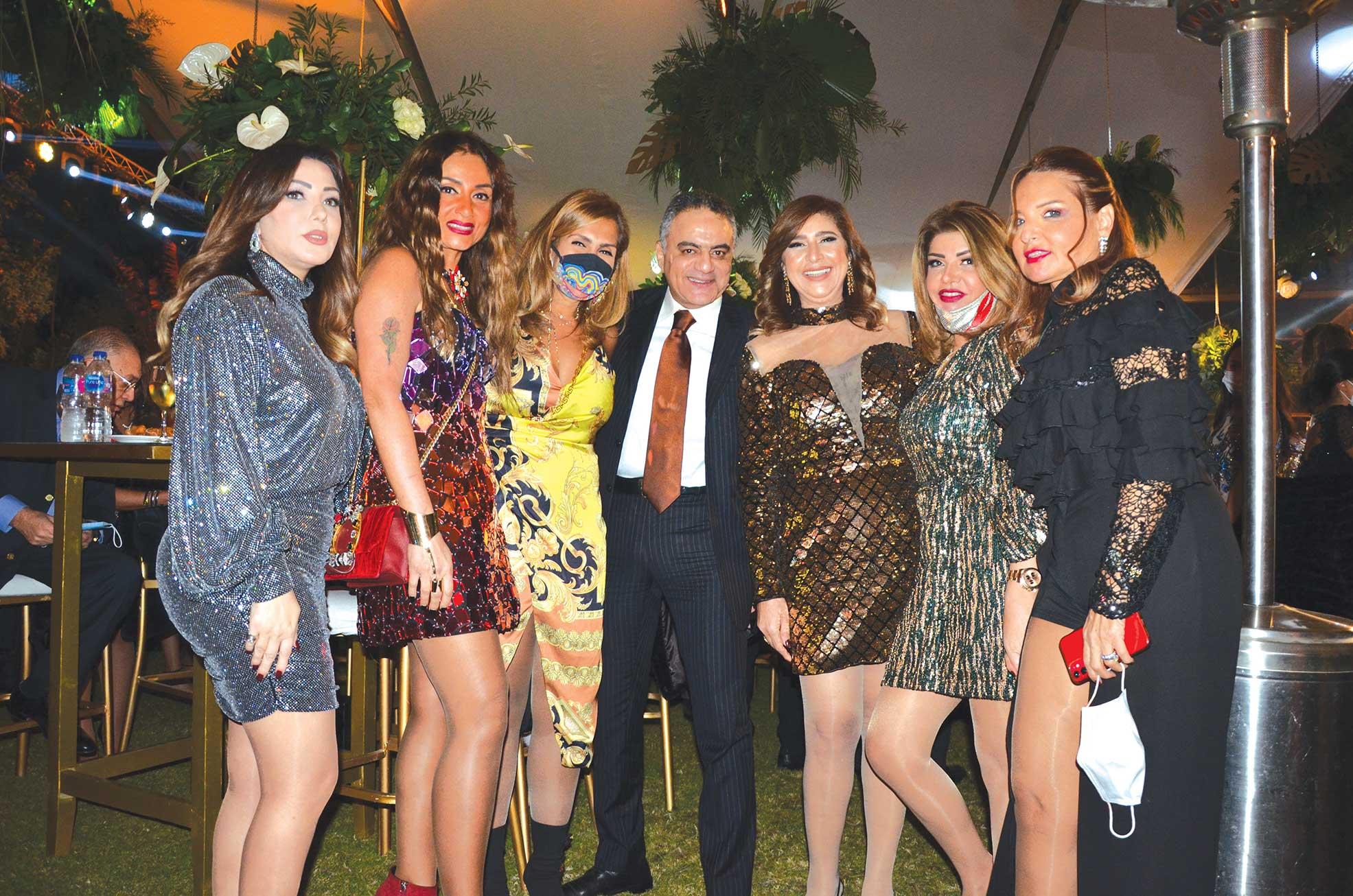 Dr. Yehia El Bustany & guests