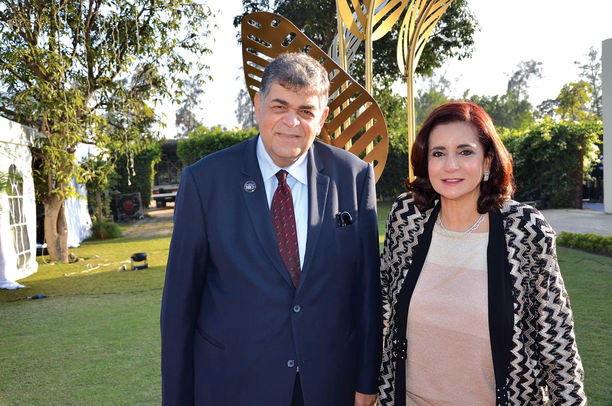 Mr. & Mrs. Ashraf Hatem