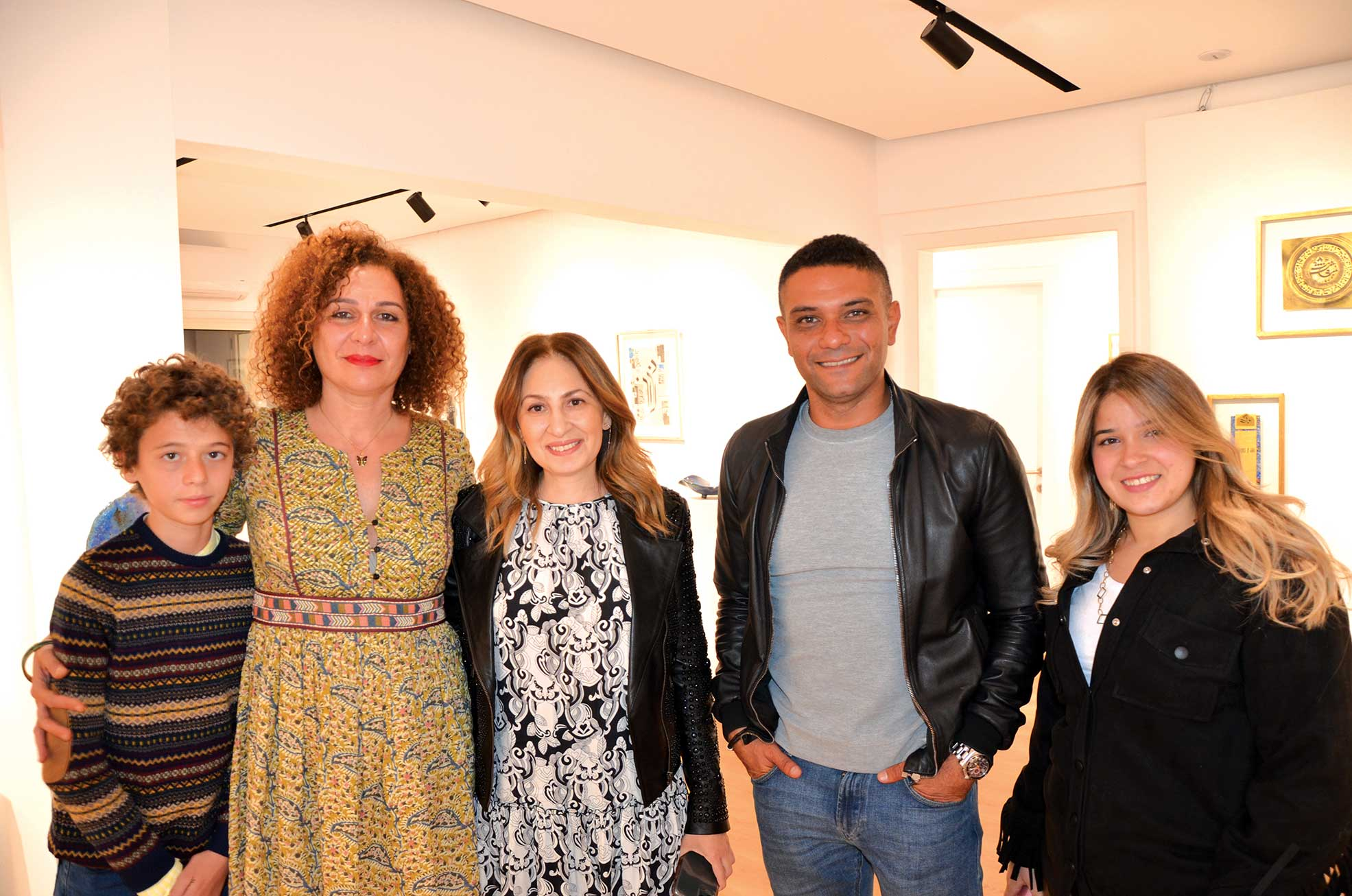 Mr. Rami Pleutin, Ms. Heba Helmy, Ms. Injy ElHakim, Mr. Asser Yassine & Ms. Nagham Saied