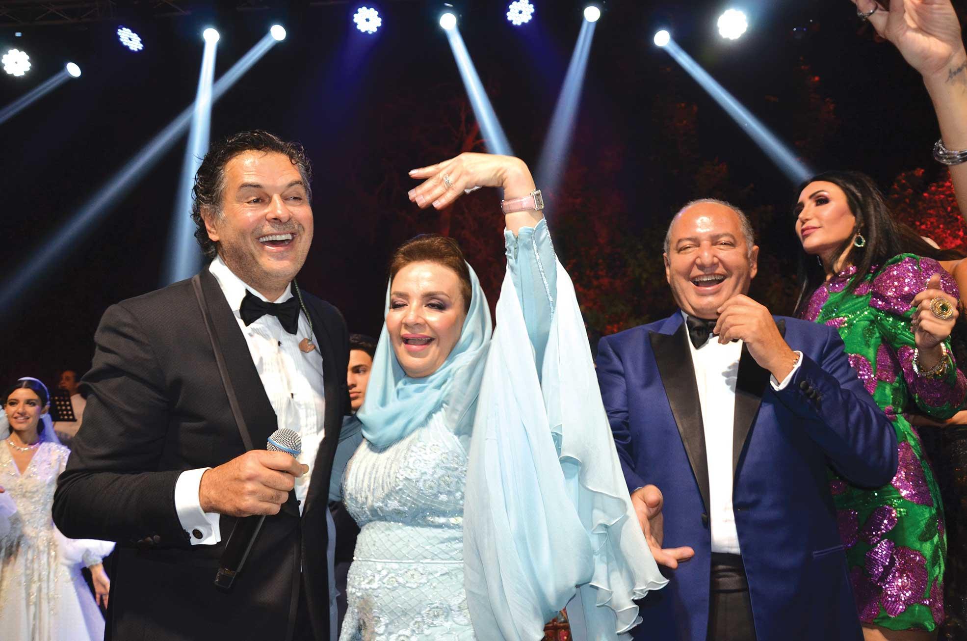 Ms. Amira ElZuhairy, Mr. Faisal ElGammal & Mr. Ragheb Alama
