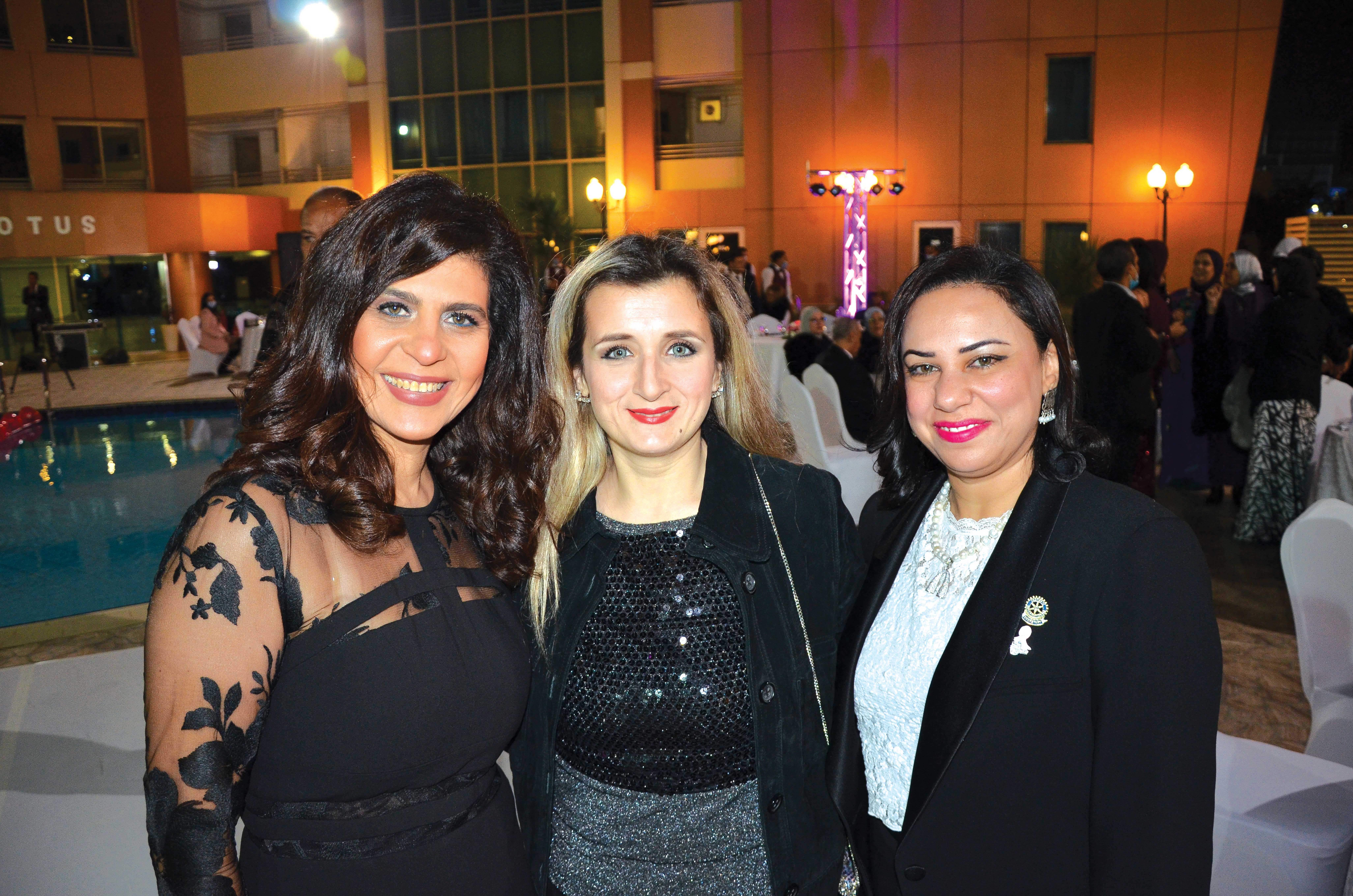 Ms. Manal Abuzeid, Ms. Gofrand Kayali & Ms. Safaa Shihata