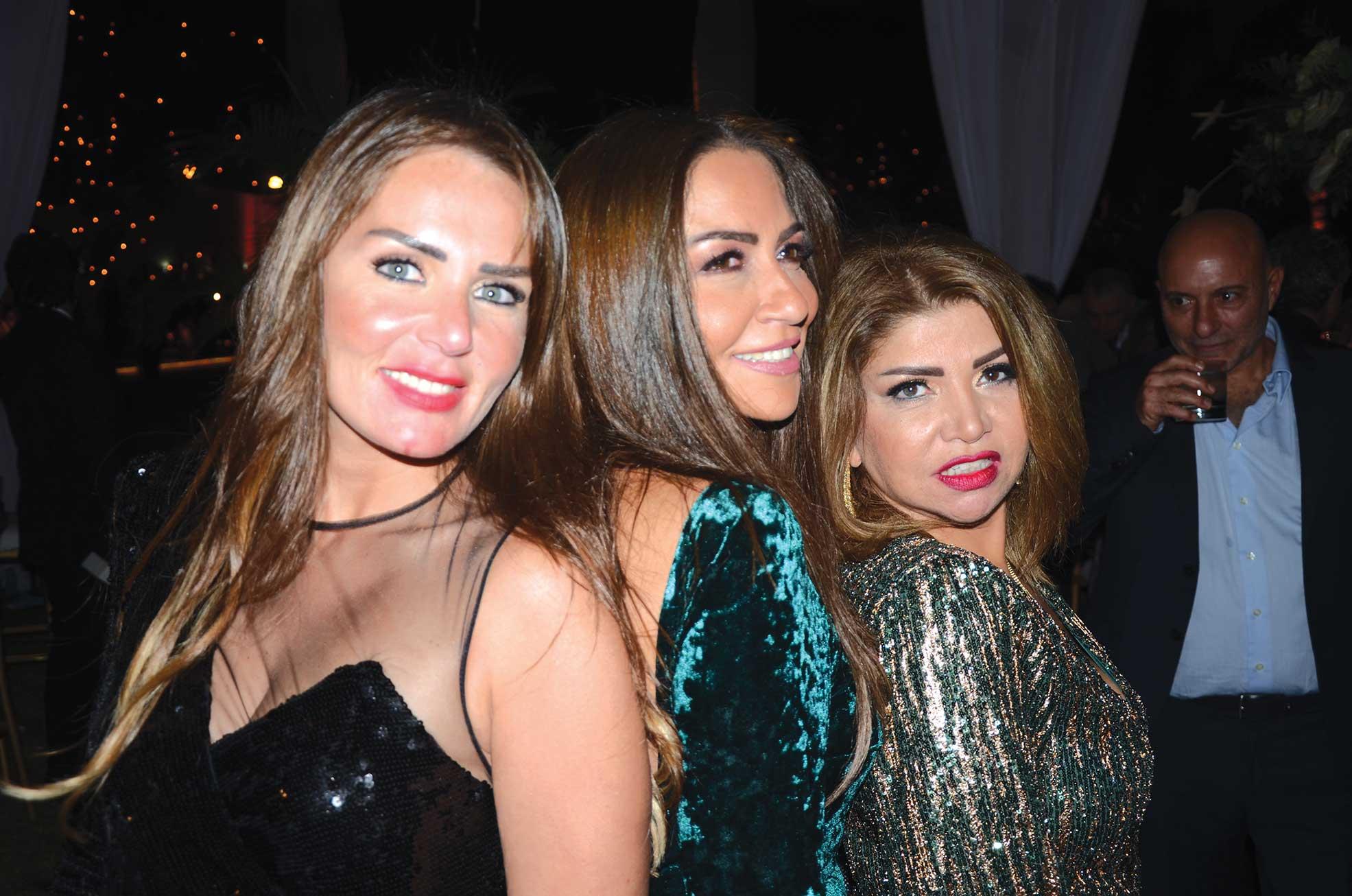 Ms. Nihal Ahdy, Ms. Ghada Abdelshafy & Ms. Amal ElShaboury