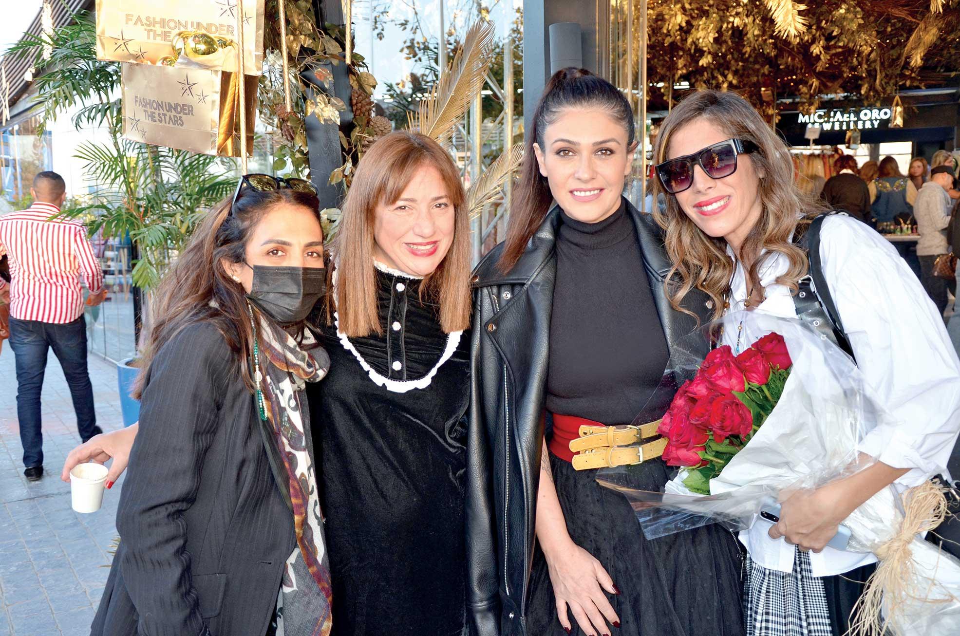 Ms.-Rania-Fahmy,-Ms.-Sahar-Azzab,-Bassma-&-Ms.-Maissa-Azzab