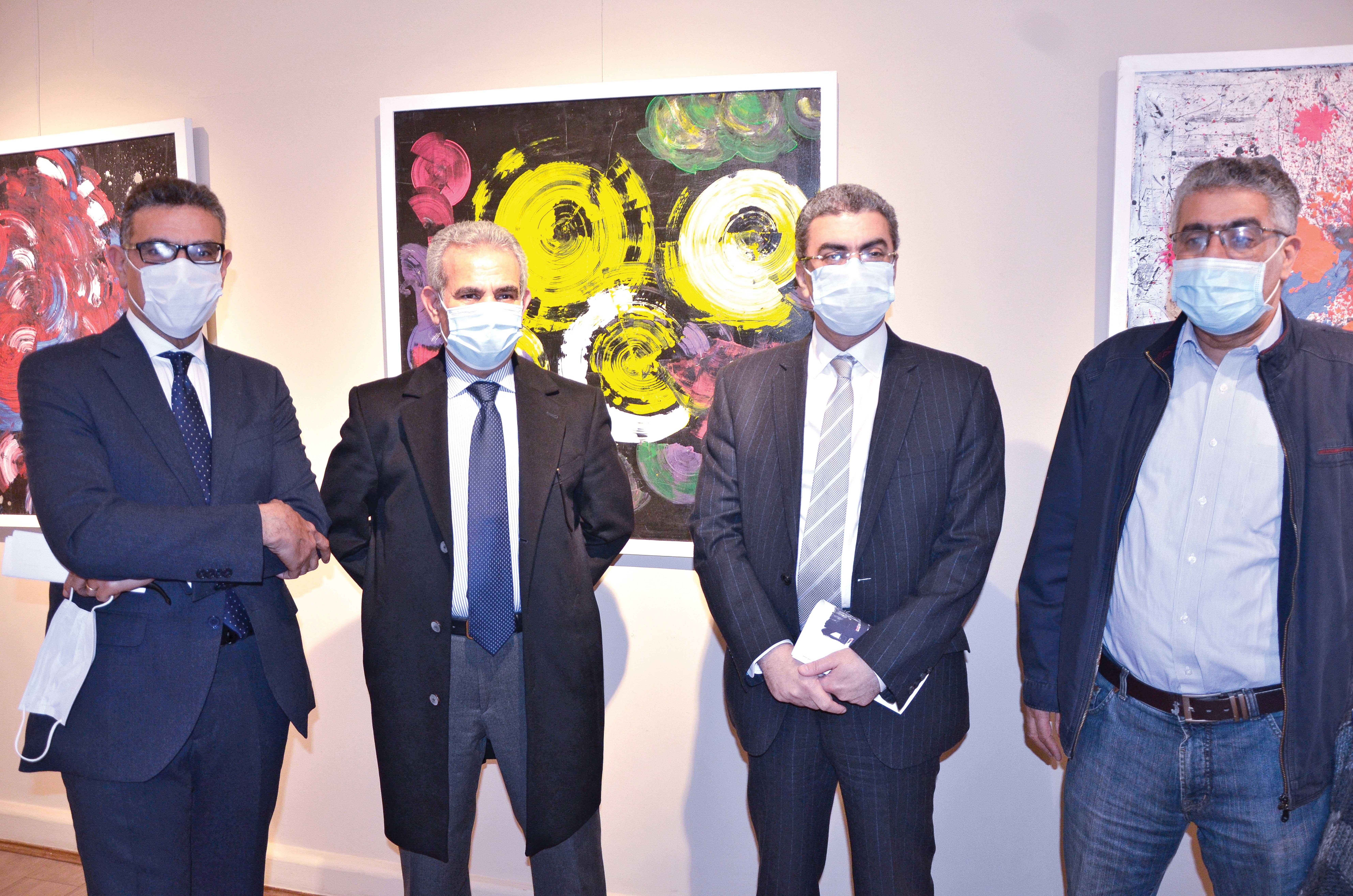 Mr. Gamal Fahmy, Mr. Ibrahim Picassio, Mr. Yasser Rizk & Mr. Emad Huessein