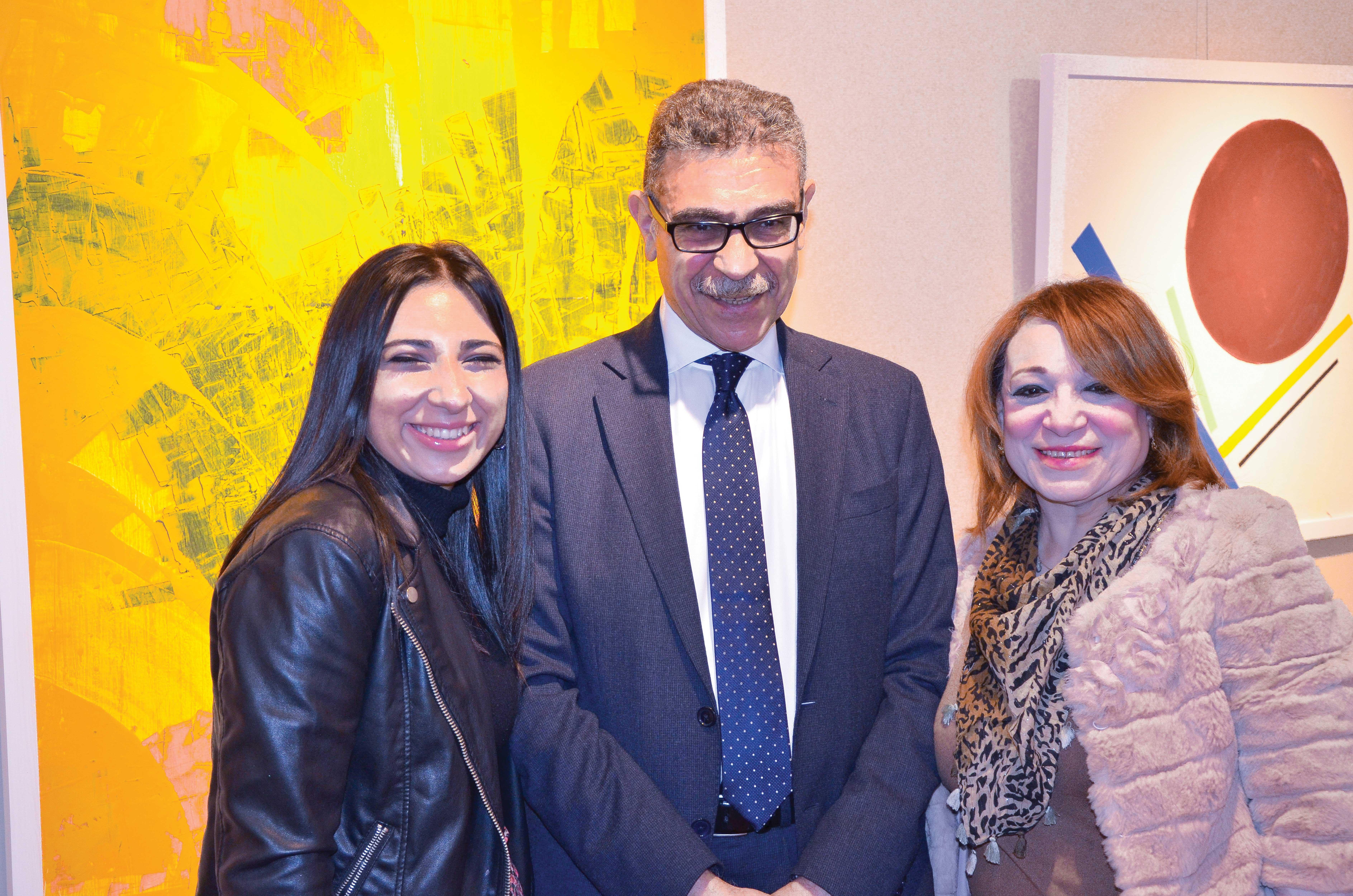 Mr. Gamal Fahmy, Ms.Ingy Fahmy & Ms. Iman Fahmy