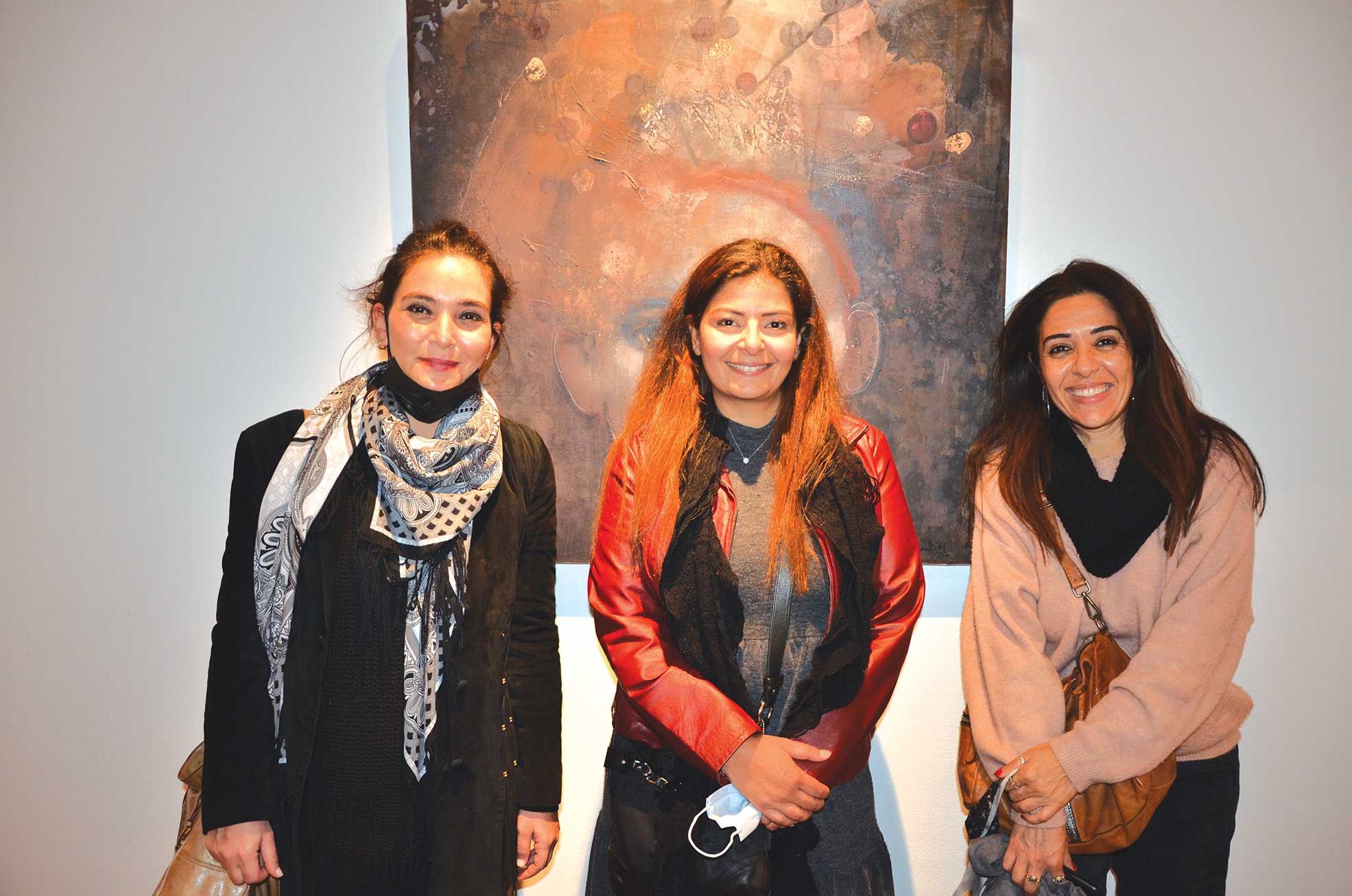 Ms. Ingy Zahran, Ms. Nevine Mansour & Ms. Marwa Magdy