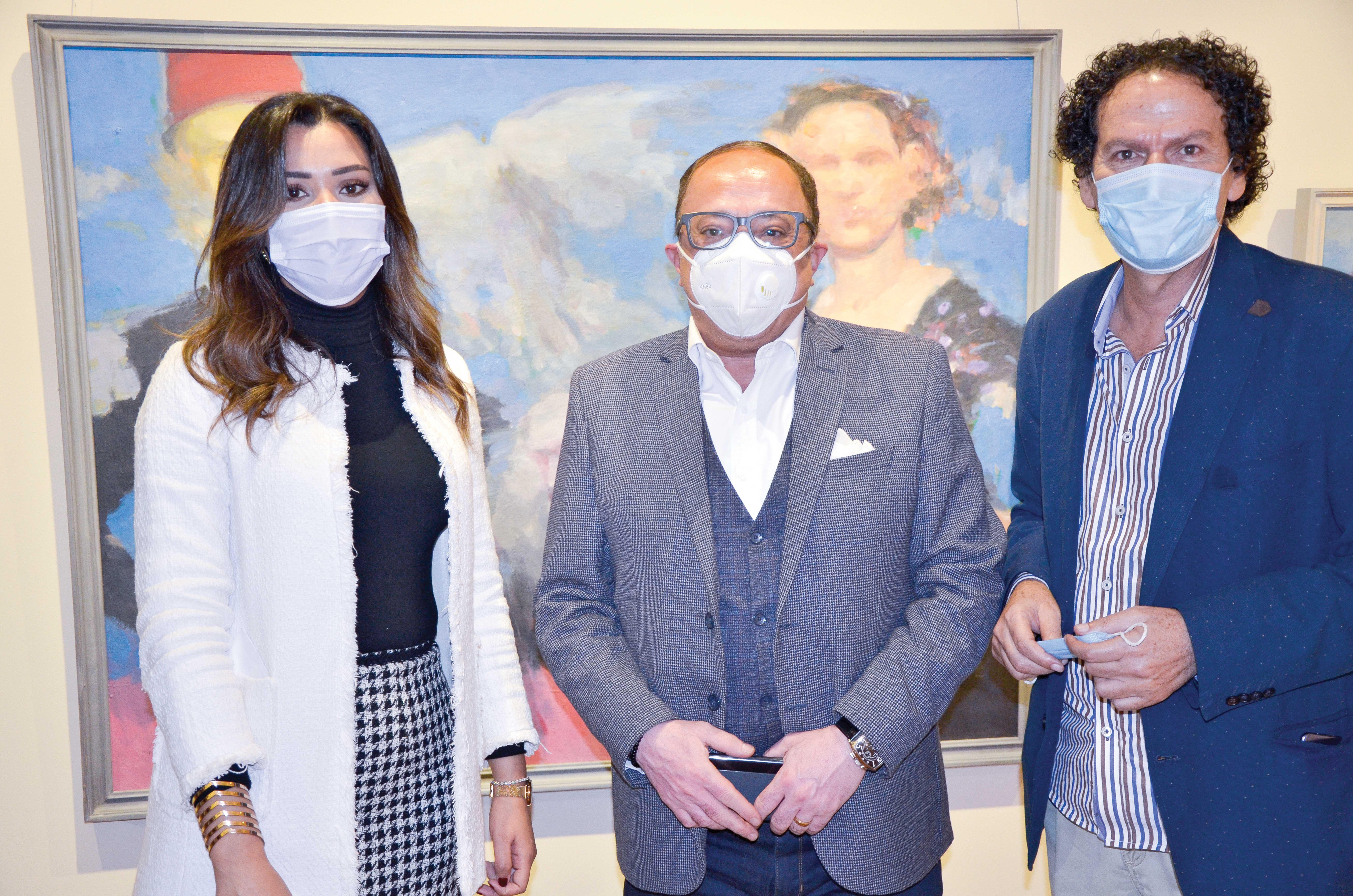 Ms. Nagwa Ibrahim, Dr. Ashraf Reda & Dr. Ibrahim Ghazala