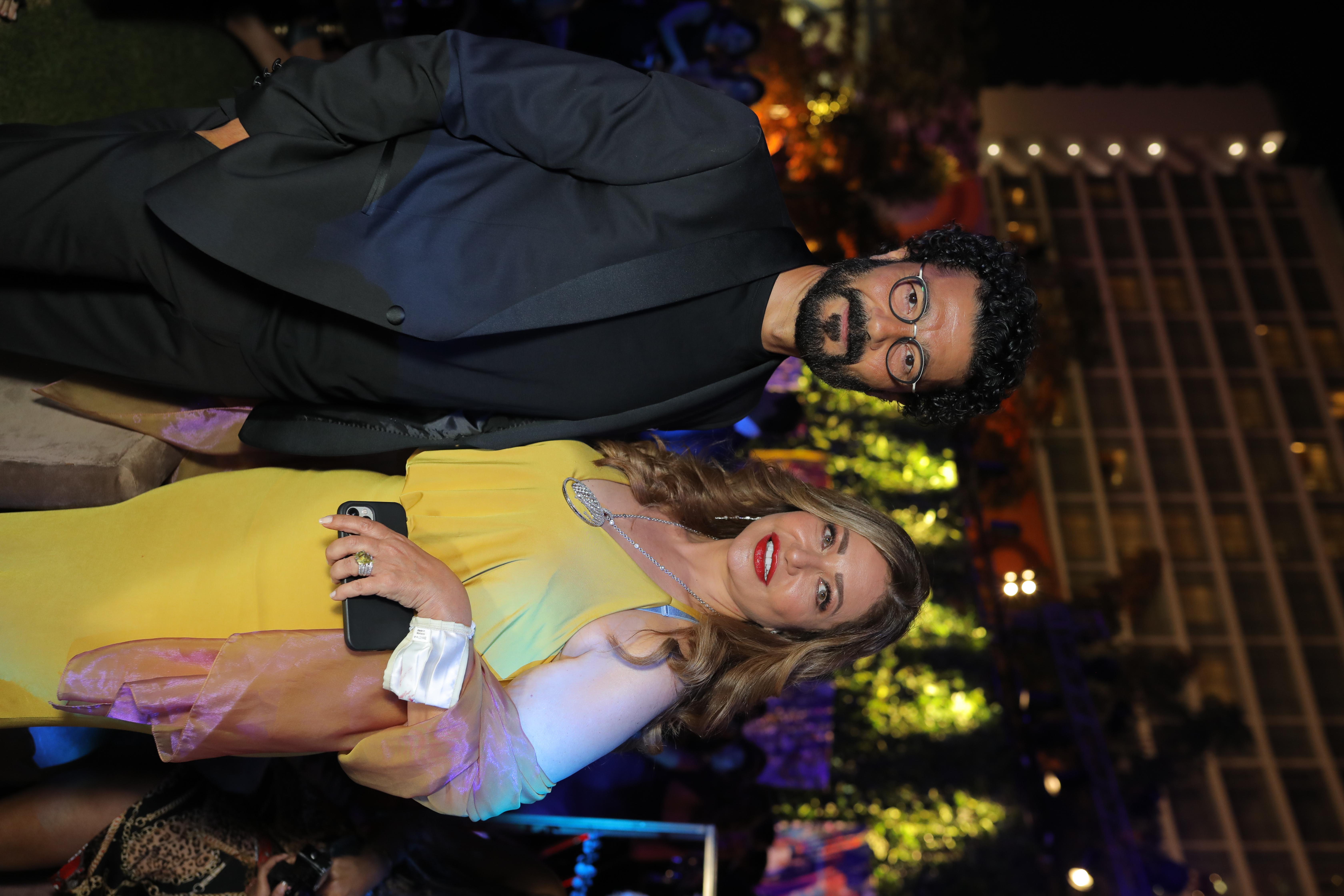 Khaled El Nabawy & Laila Eloui
