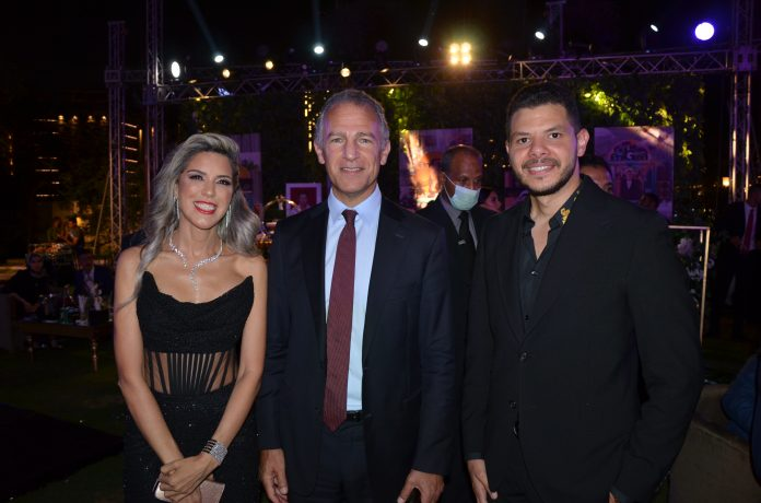 Yasmine Shihata, US Ambassador & Mr. Ahmed Mansour